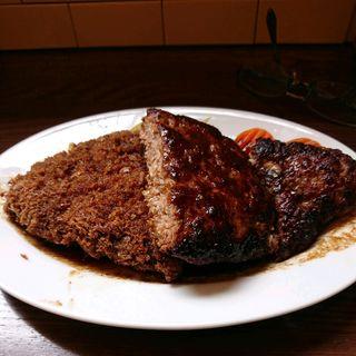 ハンバーグ(L)(洋食すいす )
