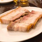 皮付き豚バラ肉の焼き物
