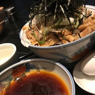 冷たい肉そば(港屋2)