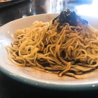本格上海葱油ソースかけ麺(蘭氏食苑)