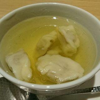 鴨のスープ(鴨のマンドゥ入り)(ほうば )