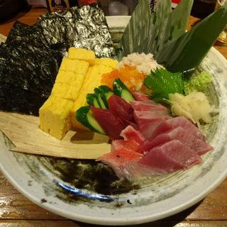 出汁巻海鮮おつまみ盛り(IZAKAYA さがみ (いざかや さがみ))