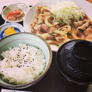 スタミナ定食(足利渡良瀬ゴルフ場レストラン )