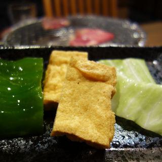 焼き野菜(もつ処 岩見)