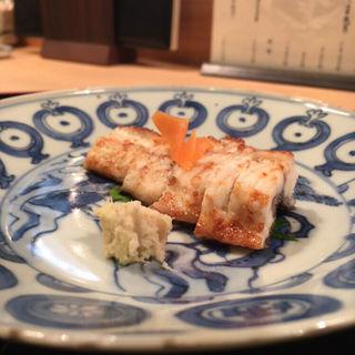 天然鰻の白焼き(山中湖 菜庭料理 尚起)