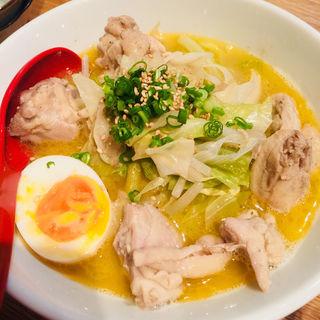 鶏出汁ラーメン(駿 上野店)