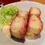 ポテサラハムカツ(駿 上野店)
