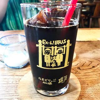 アイスコーヒー(ねるどりっぷ珈琲 機屋 (ネルドリップコーヒー ハタヤ))
