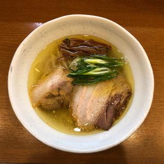 中華そば 鶏・豚 塩(中華そば うえまち )