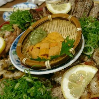 肉の徳田盛り(メガサイズ)(徳田酒店 ルクアバルチカ店)