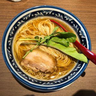 鶏中華そば(晴耕雨読)