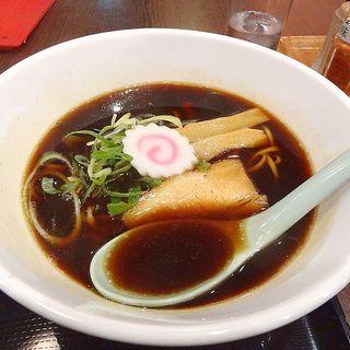 伊丹ブラックラーメン(中華麺蒼園 (ソウエン))