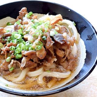 肉ぶっかけ冷(マルタニ製麺 )