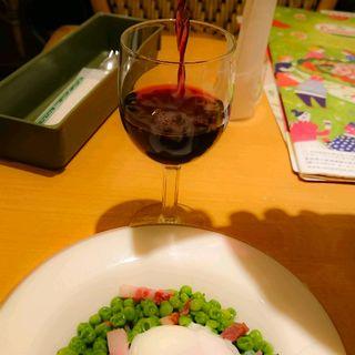 柔らか青豆の温サラダ(サイゼリヤ 本郷三丁目店 )