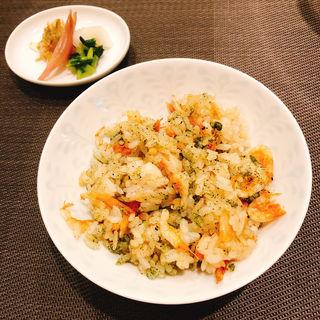桜海老のご飯(銀座 響 boeuf)