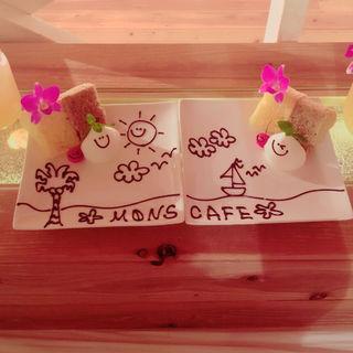 シフォンケーキ(モンス カフェ キョウト)