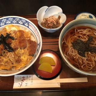 カツ丼セット(そば紋 平岸三条店 (そばもん))