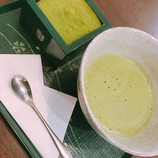 抹茶ティラミス(喫茶去 西武高槻店 (きっさこ【旧店名】茶の彩 西武高槻店))