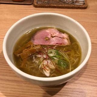 鶏煮干塩らーめん(はな・3 (ハナテンスリー))