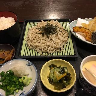 天ざる定食(星野村 )