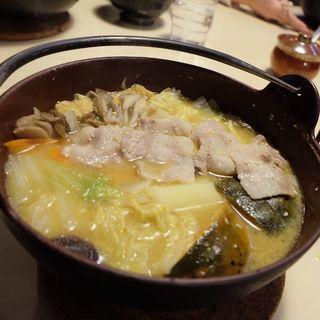 黄金ほうとう(ほうとう蔵 歩成 河口湖店)
