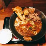 肉カレーうどん(釜たけうどん 八重洲北口店 )