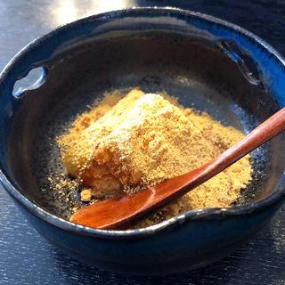 わらび餅(一麦七菜 (イチバクナナサイ ))