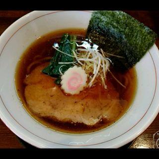 醤油らーめん(麺処ほんだ)