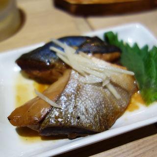 しっかり魚の煮付け(食事処 ニュー因幡)