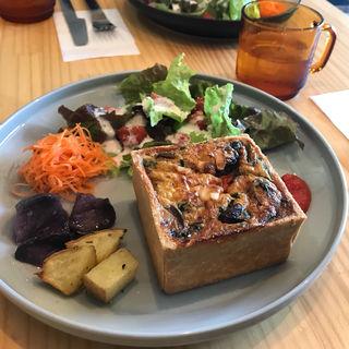 ハコキッシュプレート(キムラ カフェ)