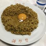 名物カレー(自由軒 難波本店)