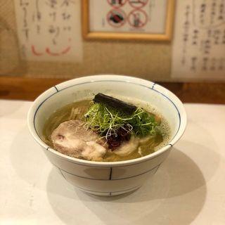 優しい塩煮干し(別邸三く 中華㐂蕎麦 萃)