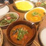 北インド地方の野菜カレー