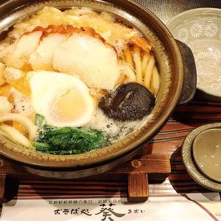 鍋焼きうどん(おそば処 葵 (あおい))