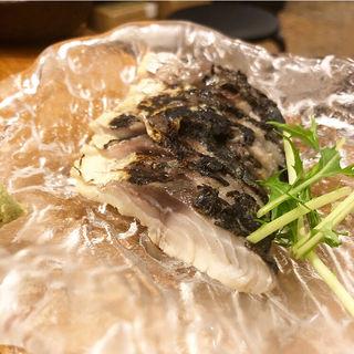 炙り〆鯖(煮こみや石の)