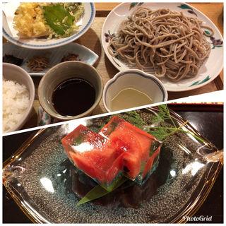 てんぷら蕎麦(赤坂 浅田 (あさだ))