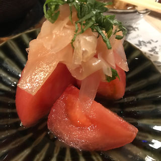 冷やしトマト(立呑みマルギン )