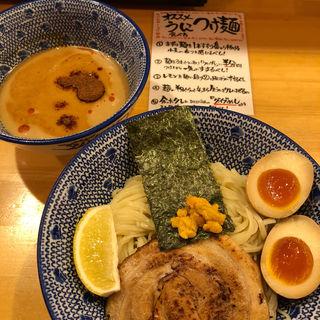 すっごい冷しうにつけ麺(吉岡マグロ節センター)