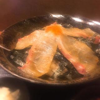 真鯛の利久丼(特製胡麻醤油漬け)(さくら井 (さくらい))