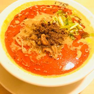 汁あり担担麺(シビれる)(175°DENO担担麺GINZa)