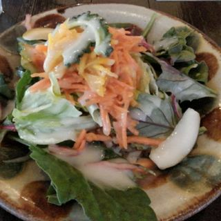 島野菜のタコライス