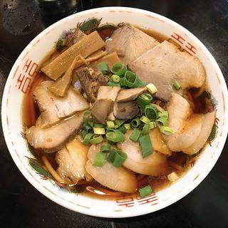 チャーシュー麺 並(中華そば さるぱぱ)
