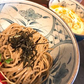 ごまだれ鶏つけ蕎麦(少)(ボンサイ (BONSAI))