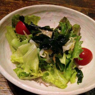 塩麹ドレッシングのサラダ コース(STERK THE FIRST 北新地店)