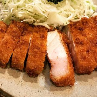 ロースかつ定食(丸和)