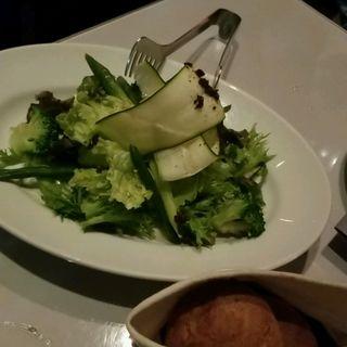 黒トリュフのナチュラルグリーンサラダ(マーサーブランチ (MERCER BRUNCH))