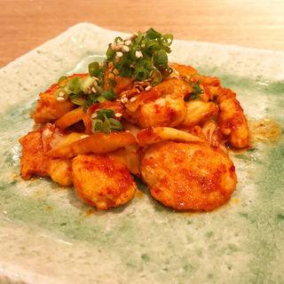 鶏キムチ(炭火串焼とりと 河原町三条店)