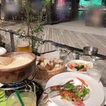 チーズフォンデュセット(REAL DINING CAFE リアルダイニングカフェ)