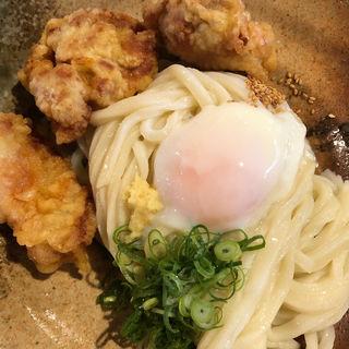 とり親子ぶっかけ(麺喰 (udon and cafe ))