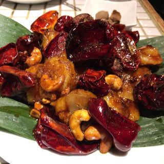 エビとカシューナッツのピリ辛炒め(月世界)
